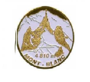 Magnet frigo photo personnalisé Chamonix Mont blanc