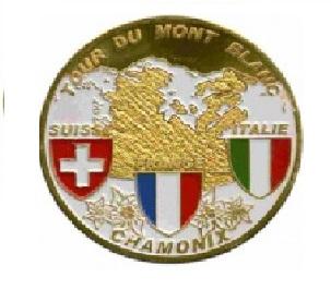 Magnet frigo photo personnalisé Chamonix tour du Mont Blanc
