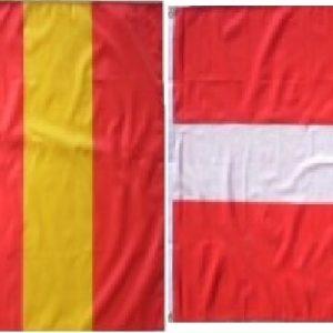 Lot drapeaux Savoie Faucigny