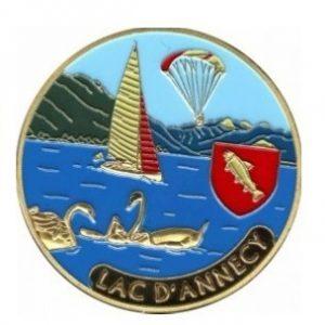 Magnet frigo photo personnalisé Annecy lac 2014