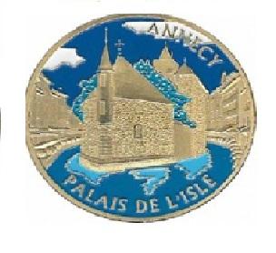Magnet frigo photo personnalisé Annecy Palais de l'Isle 2014