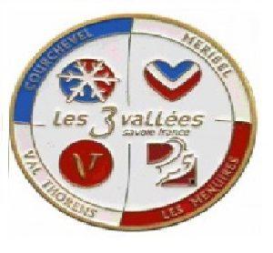 Magnet frigo photo personnalisé Savoie les 3 Vallées