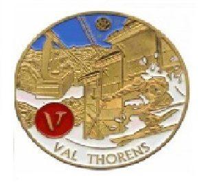 Magnet frigo photo personnalisé Val Thorens ski 2012