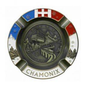 Cendrier personnalisé Chamonix Station