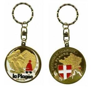 Porte-clés personnalisé la Plagne ski