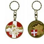 Porte clés personnalisé Savoie Pays Edelweiss