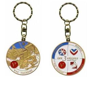 Porte-clés personnalisé Val Thorens