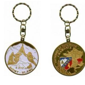 Porte-clés personnalisé Chamonix Mont-blanc