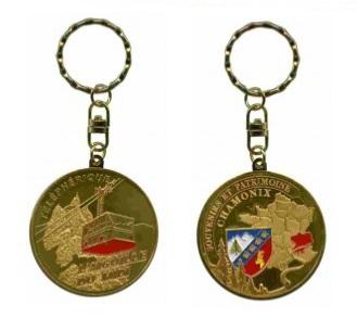 Porte-clés personnalisé Chamonix téléphérique