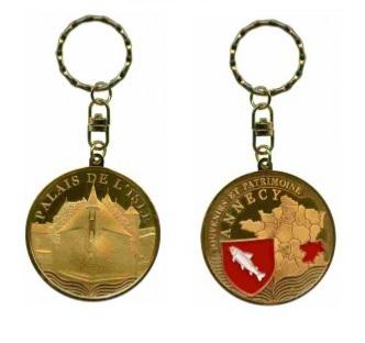 Porte-clés personnalisé Annecy Palais de l'Isle