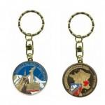 Porte-clés personnalisé Chamonix téléphérique 2014