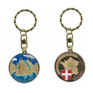 Porte-clés personnalisé Annecy Palais de l'Isle 2014