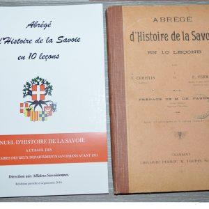 Abrégé histoire de la Savoie