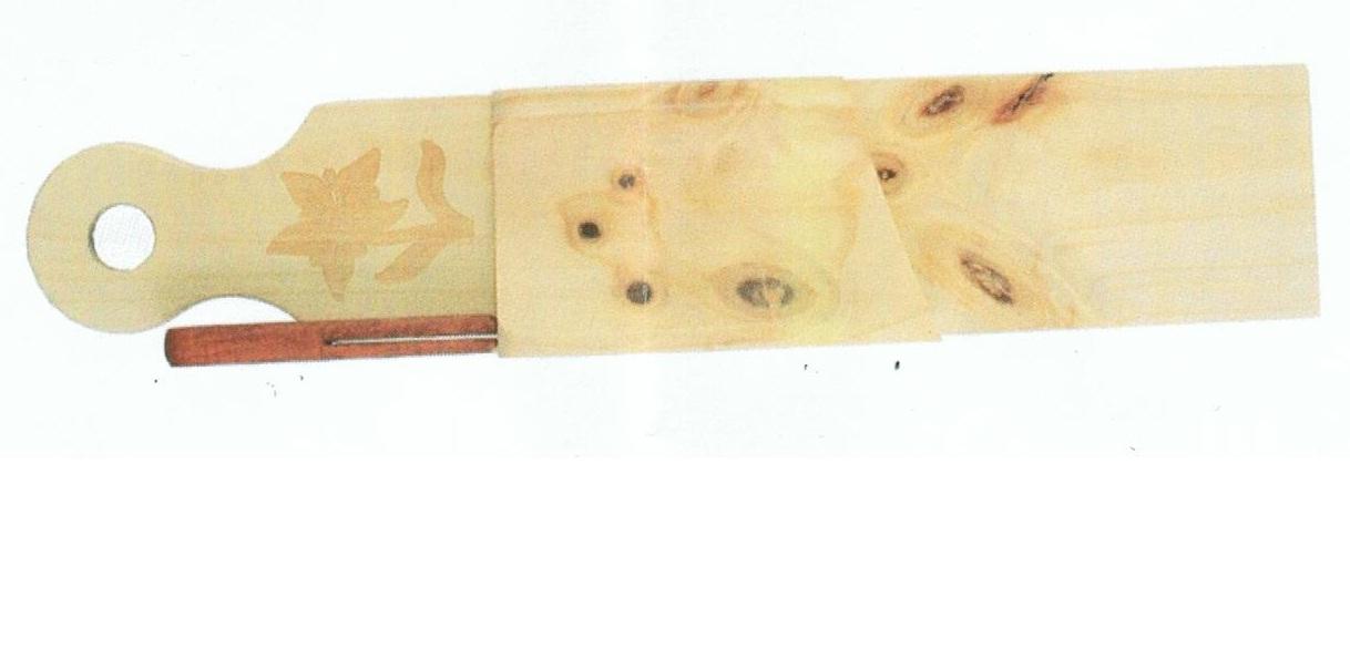 Planche à découper le saucisson edelweiss