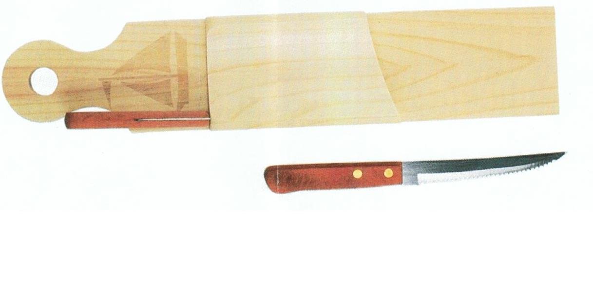 Planche à découper le saucisson 2