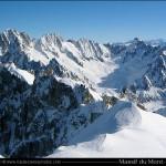 Massif du Mont-Blanc 4810 m