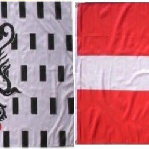 Lot drapeaux Savoie Chablais