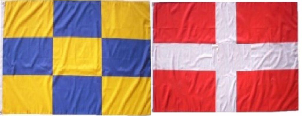 Lot drapeaux Savoie Genevois