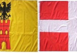 Lot drapeaux Savoie Maurienne