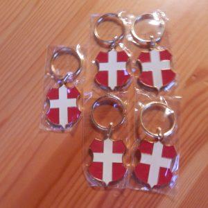 Lot 5 Porte-clés personnalisés Savoie mon pays