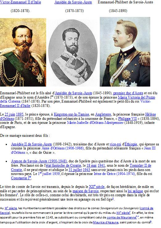 Famille de Savoie
