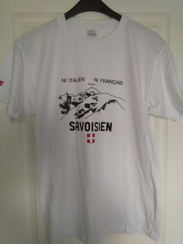 T-shirt ni Italien ni Français Savoisien