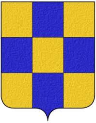 Bannière du Genevois ou Drapeau carré de 50X50 cm
