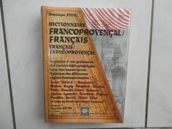 Dictionnaire francoprovençal français