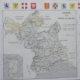 Carte des états de Savoie de 1913